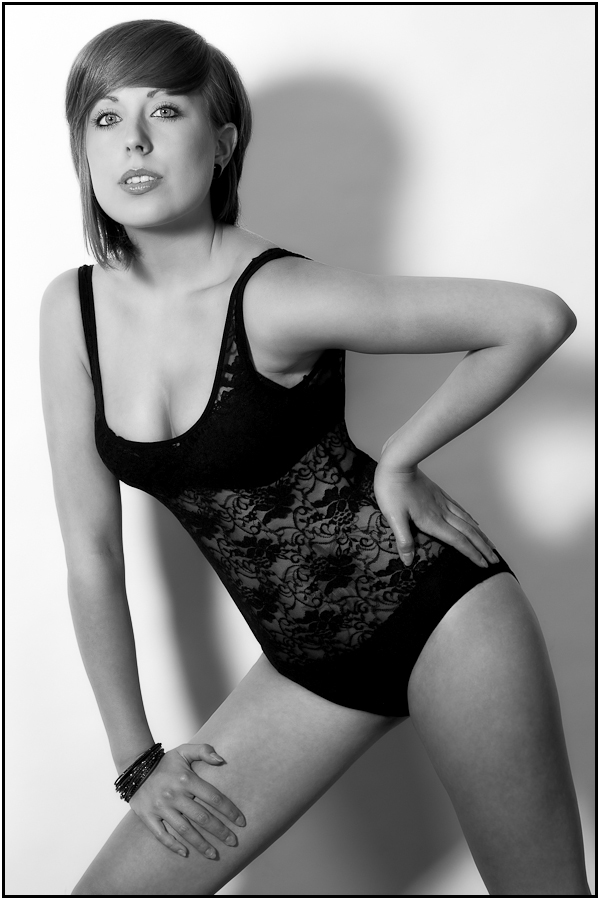 Lingerie - Boudoir Black and White